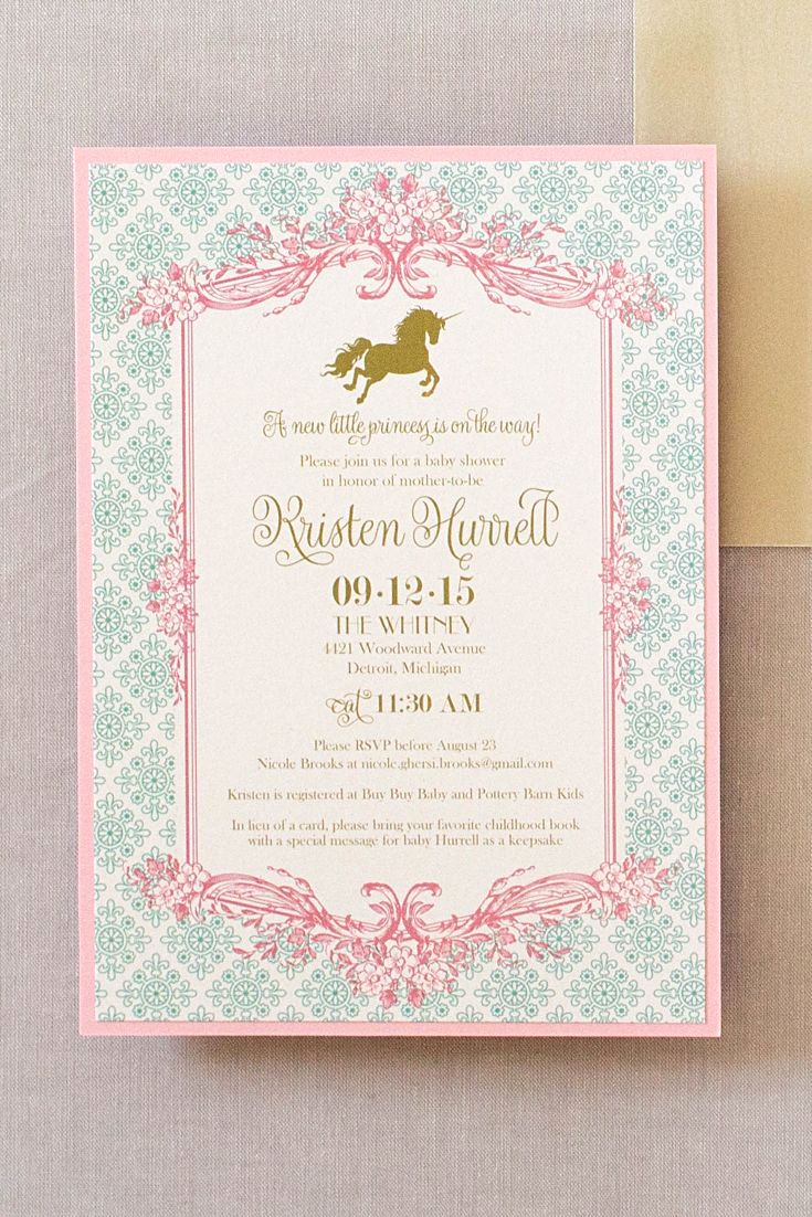Unique Baby Shower Invitation Ideas Lovely 25 Best Fairytale Baby Showers Ideas On Pinterest