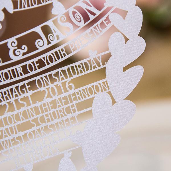 Unique Wedding Invitation Ideas Luxury Laser Cut Wedding Invitations