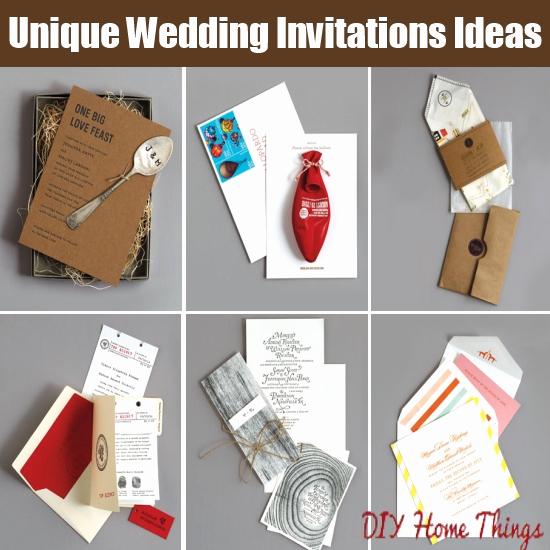 Unique Wedding Invitation Ideas New 10 Cool and Unique Wedding Invitations Ideas