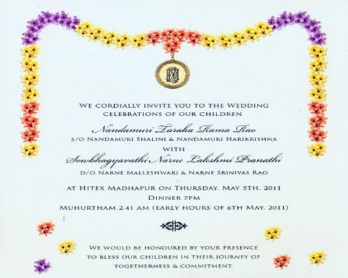 Upanayanam Invitation Card Sample Best Of Upanayanam Invitation Template In Telugu