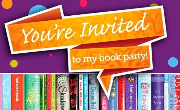 Usborne Book Party Invitation Elegant and Here We Go Usborne Books and Cycle 3