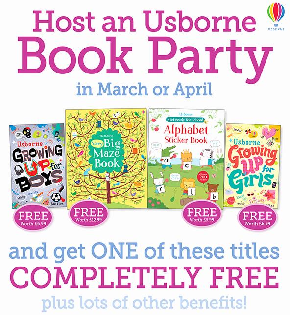 Usborne Book Party Invitation Inspirational Host An Usborne Book Party In April