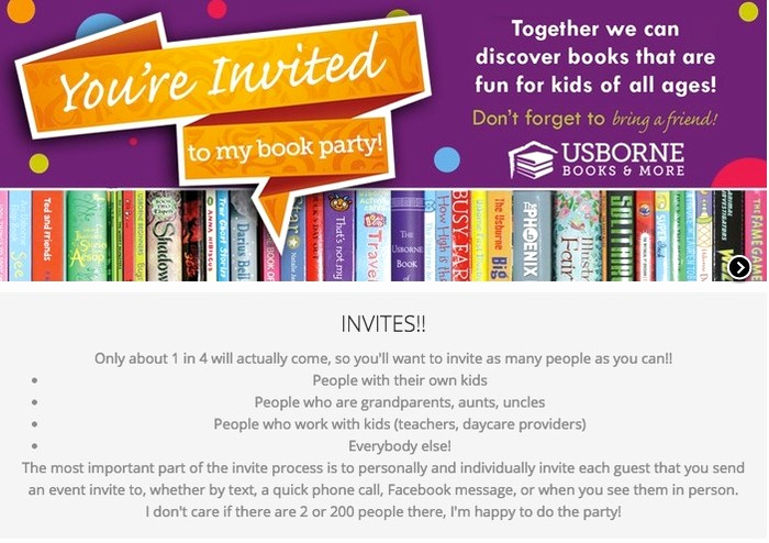 Usborne Book Party Invitation Unique Your Awesome Usborne Book Party