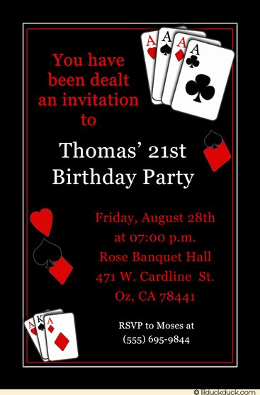 Vegas themed Invitation Templates Beautiful Best 25 Casino theme Parties Ideas On Pinterest