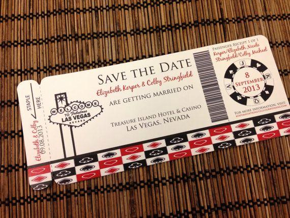 Vegas themed Invitation Templates New Best 20 Vegas themed Wedding Ideas On Pinterest