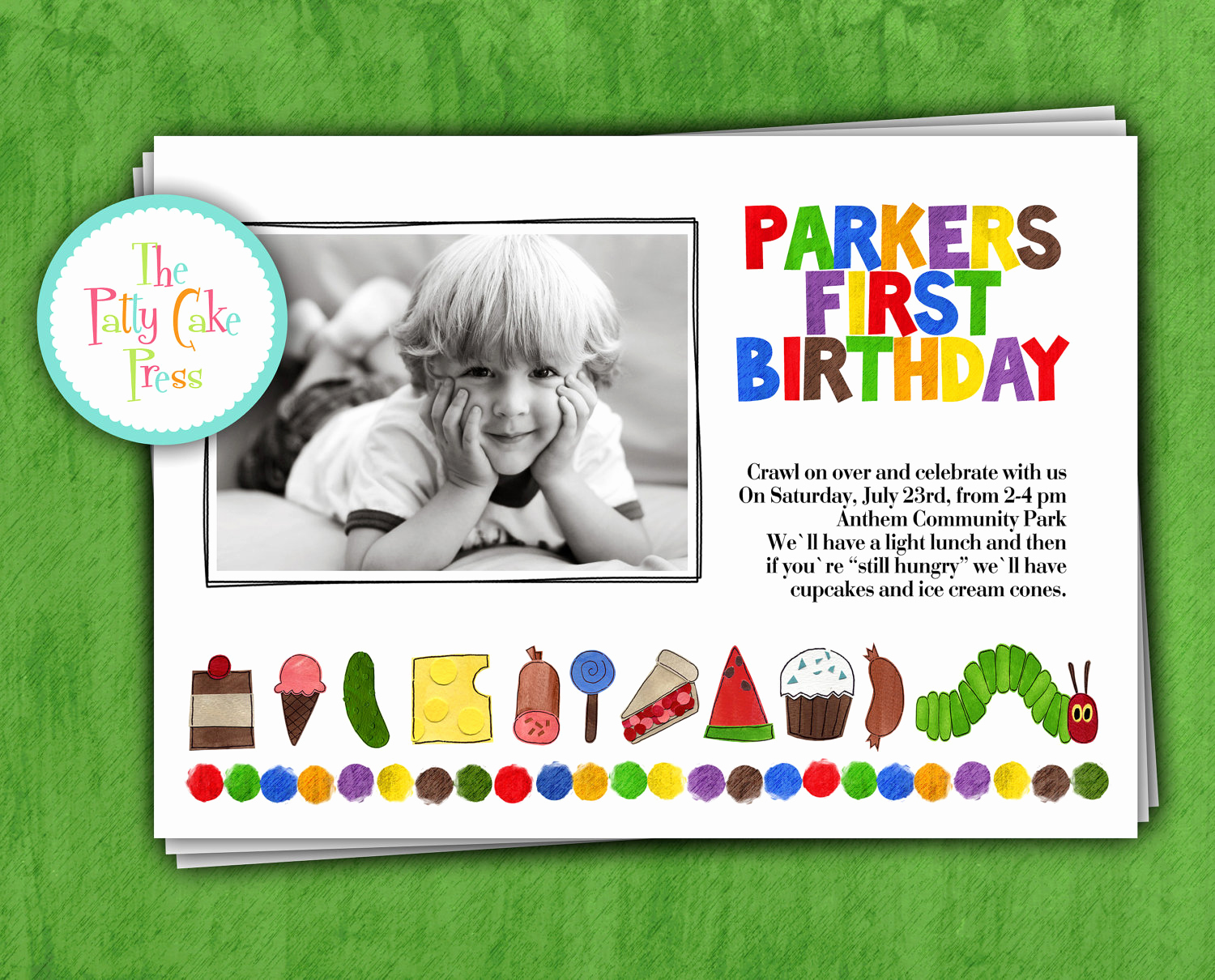 Very Hungry Caterpillar Invitation Template Lovely Very Hungry Caterpillar Birthday Invitations – Bagvania