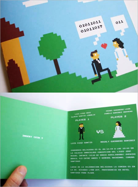 Video Game Wedding Invitation Luxury 11 Great Video Game Wedding Invitations