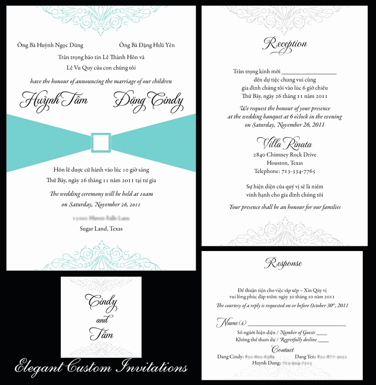 Vietnamese Wedding Invitation Wording Best Of Vietnamese Wedding Invitation Templates