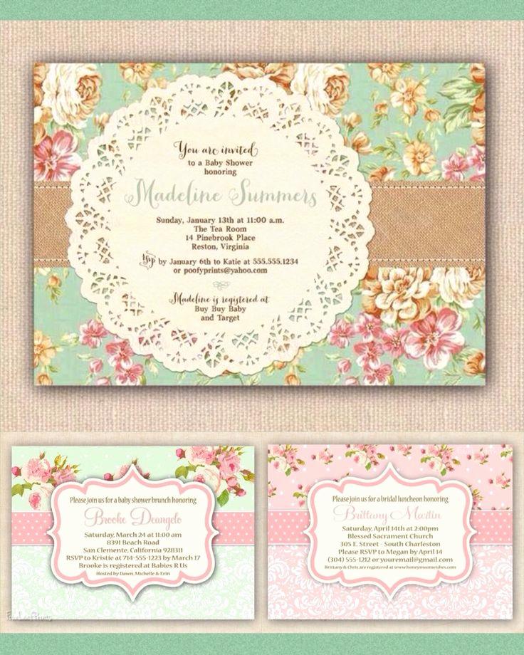 Vintage Baby Shower Invitation Inspirational Best 25 Pink Floral Background Ideas On Pinterest