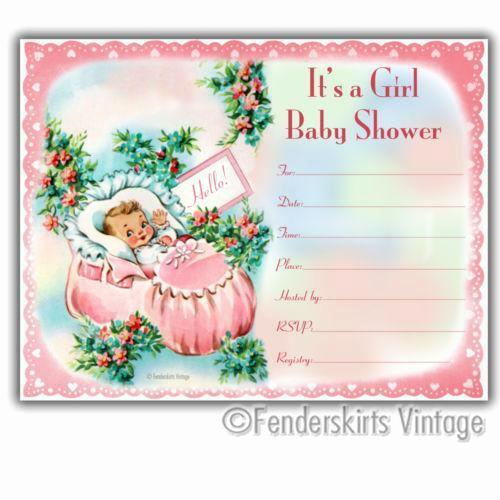 Vintage Baby Shower Invitation Lovely Vintage Baby Shower Invitations