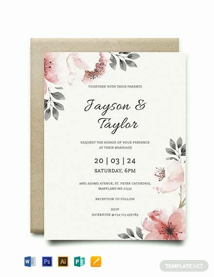 Vintage Wedding Invitation Templates Beautiful 79 Free Wedding Invitation Templates [download Ready Made