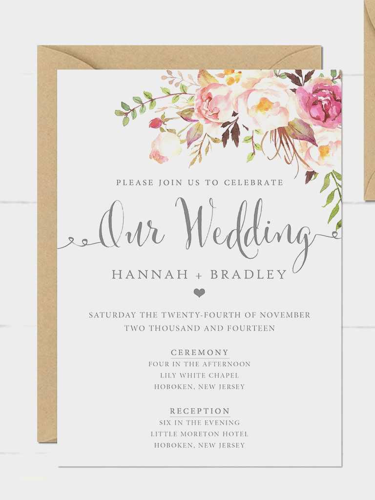 Vintage Wedding Invitation Templates Elegant New Blank Vintage Wedding Invitation Templates Creative