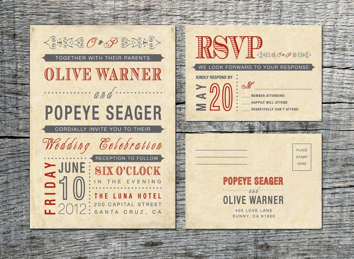 Vintage Wedding Invitation Templates Fresh Diy Wedding Invitations Samples Latest News