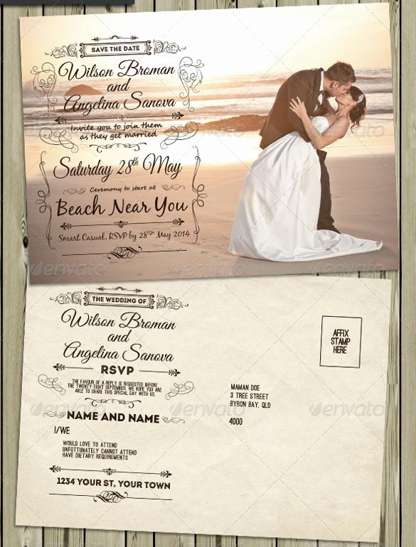 Vintage Wedding Invitation Templates Lovely 23 Vintage Wedding Invitation Free Psd format Download
