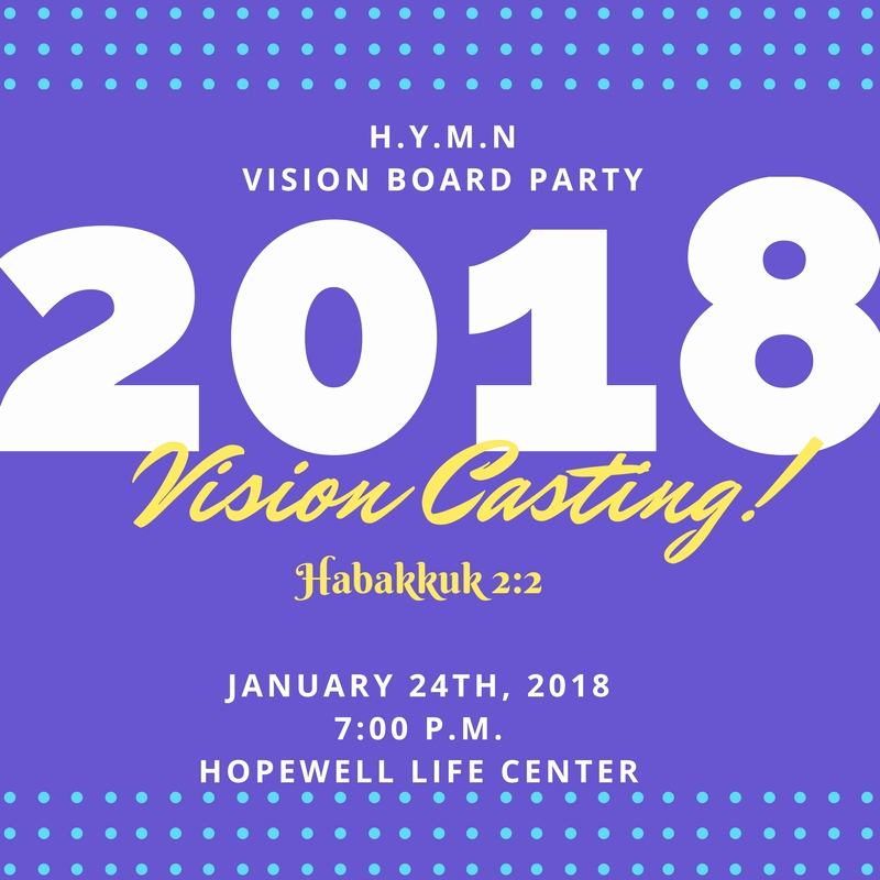 Vision Board Party Invitation Awesome Youth Vision Board Party – January 24 – Hopewell