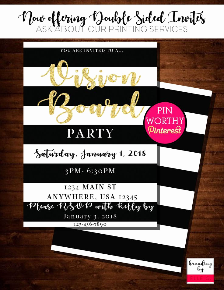 Vision Board Party Invitation Elegant 25 Unique Candy Invitations Ideas On Pinterest
