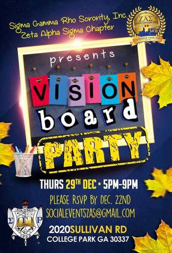 Vision Board Party Invitation New Join Us for A Vision Board Party