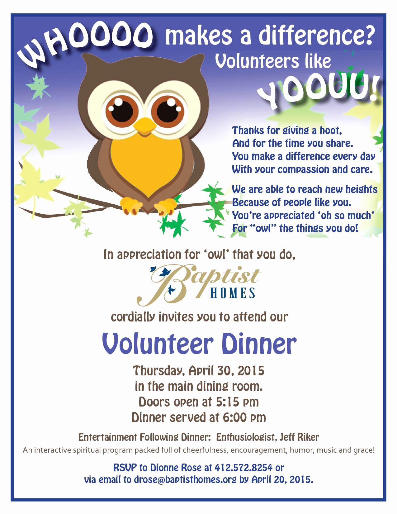 Volunteer Appreciation Invitation Wording Beautiful Baptist Homes Volunteer Banquet Invitations How to
