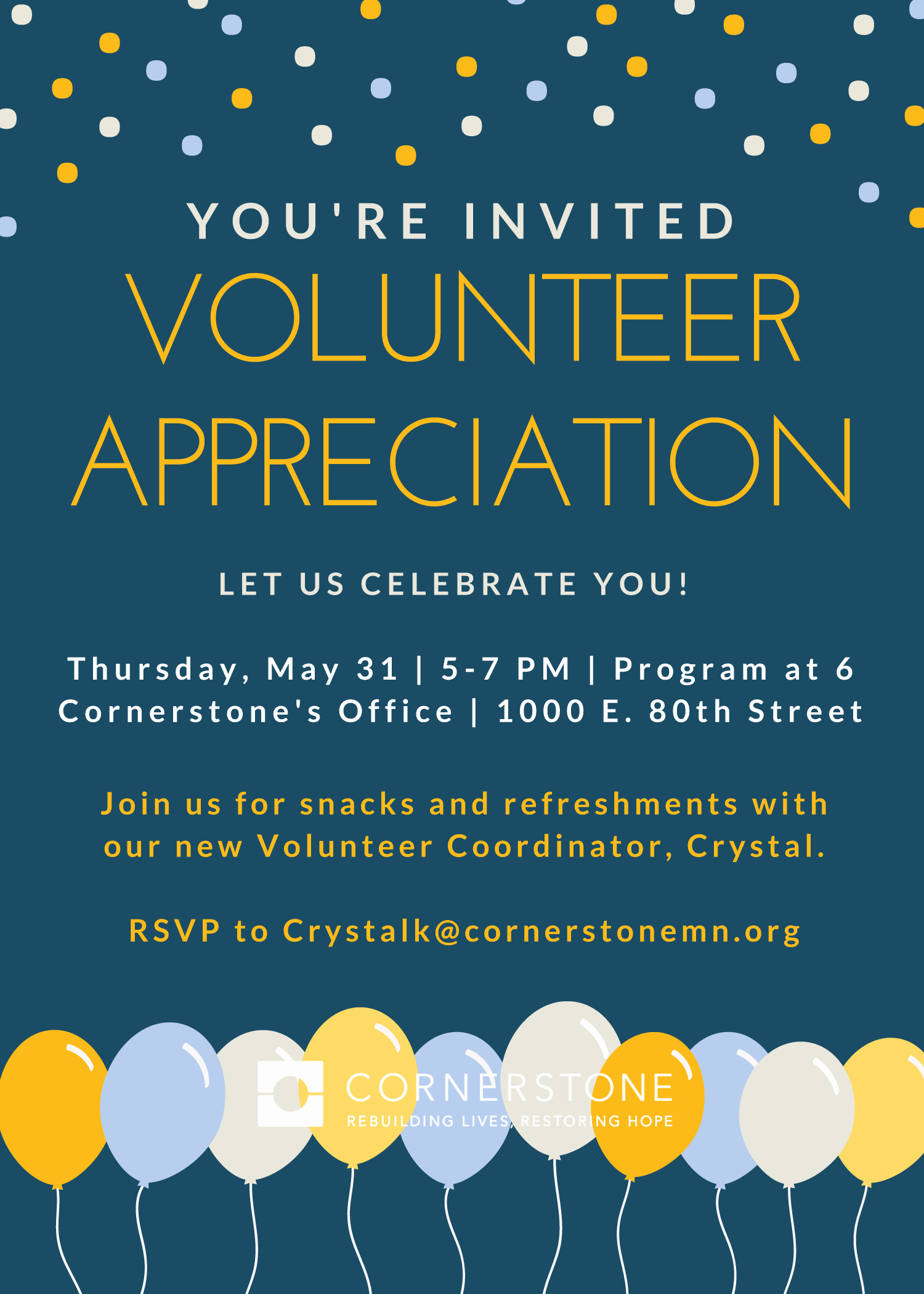 Volunteer Appreciation Invitation Wording Best Of 2018 Volunteer Appreciation