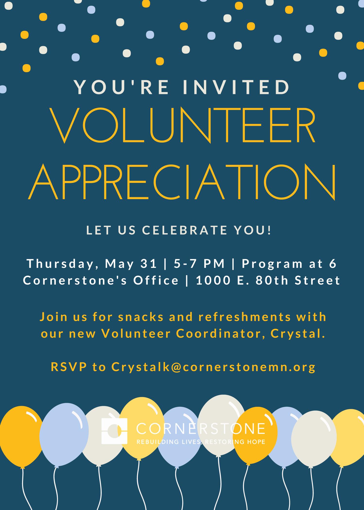 Volunteer Appreciation Invitation Wording Best Of 2018 Volunteer Appreciation