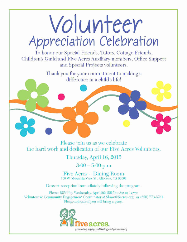 Volunteer Appreciation Invitation Wording Best Of 39 event Invitations In Word