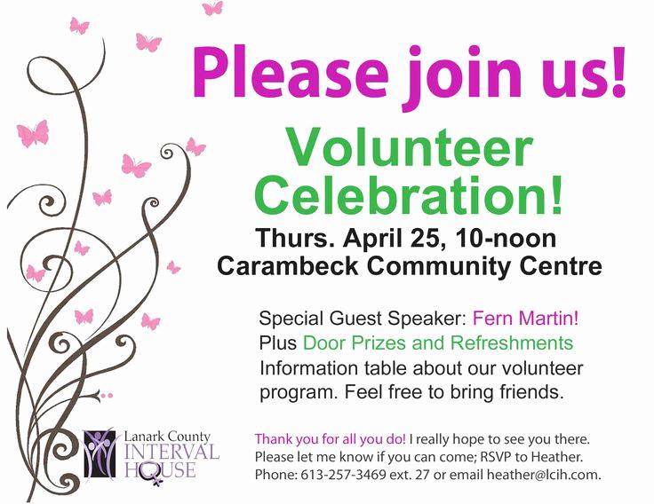 Volunteer Appreciation Invitation Wording Inspirational Pin On Volunteer Appreciation Invitation
