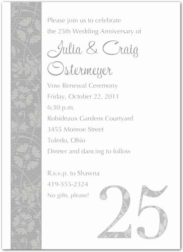 Vow Renewal Invitation Wording Awesome 25 Unique 25th Wedding Anniversary Quotes Ideas On