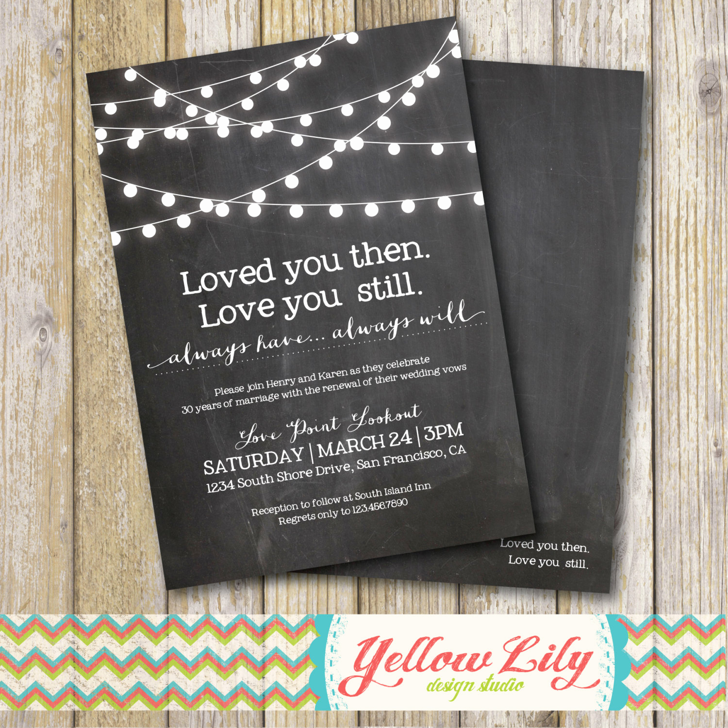 Vow Renewal Invitation Wording Inspirational Vow Renewal Invitation Chalkboard Vow Renewal Marriage