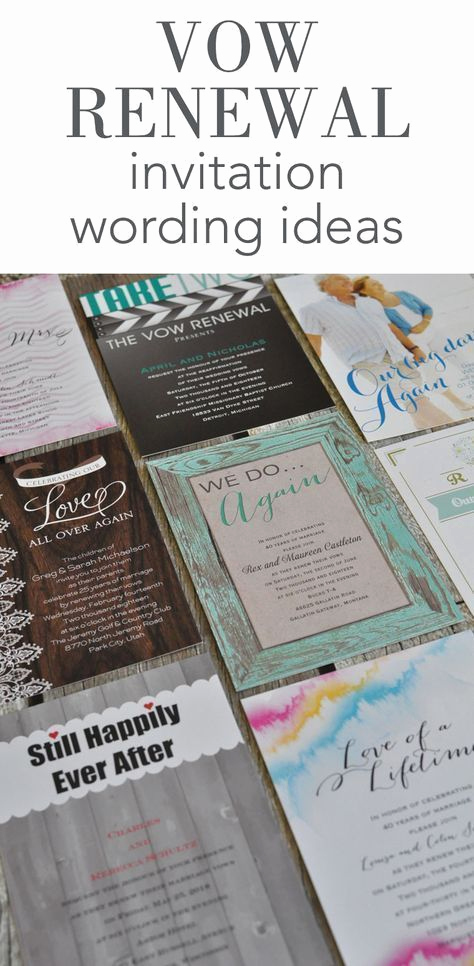 Vow Renewal Invitation Wording Lovely Best 25 Vow Renewal Invitations Ideas On Pinterest