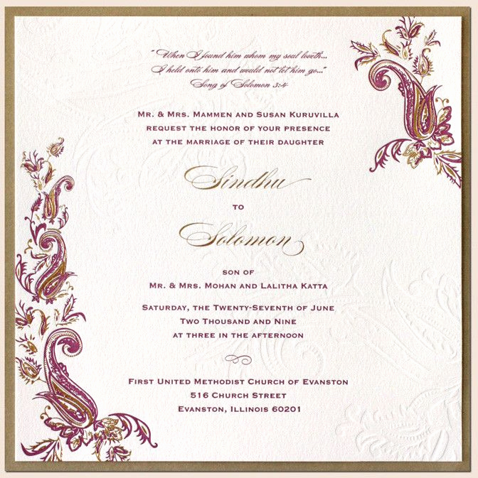 Walima Invitation Cards Wordings Awesome Indian Wedding Card Ideas Google Search