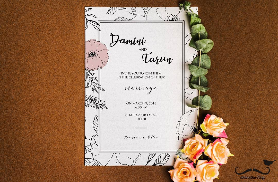 Walima Invitation Cards Wordings Fresh the Best Wedding Invitation Wording Ideas for Friends