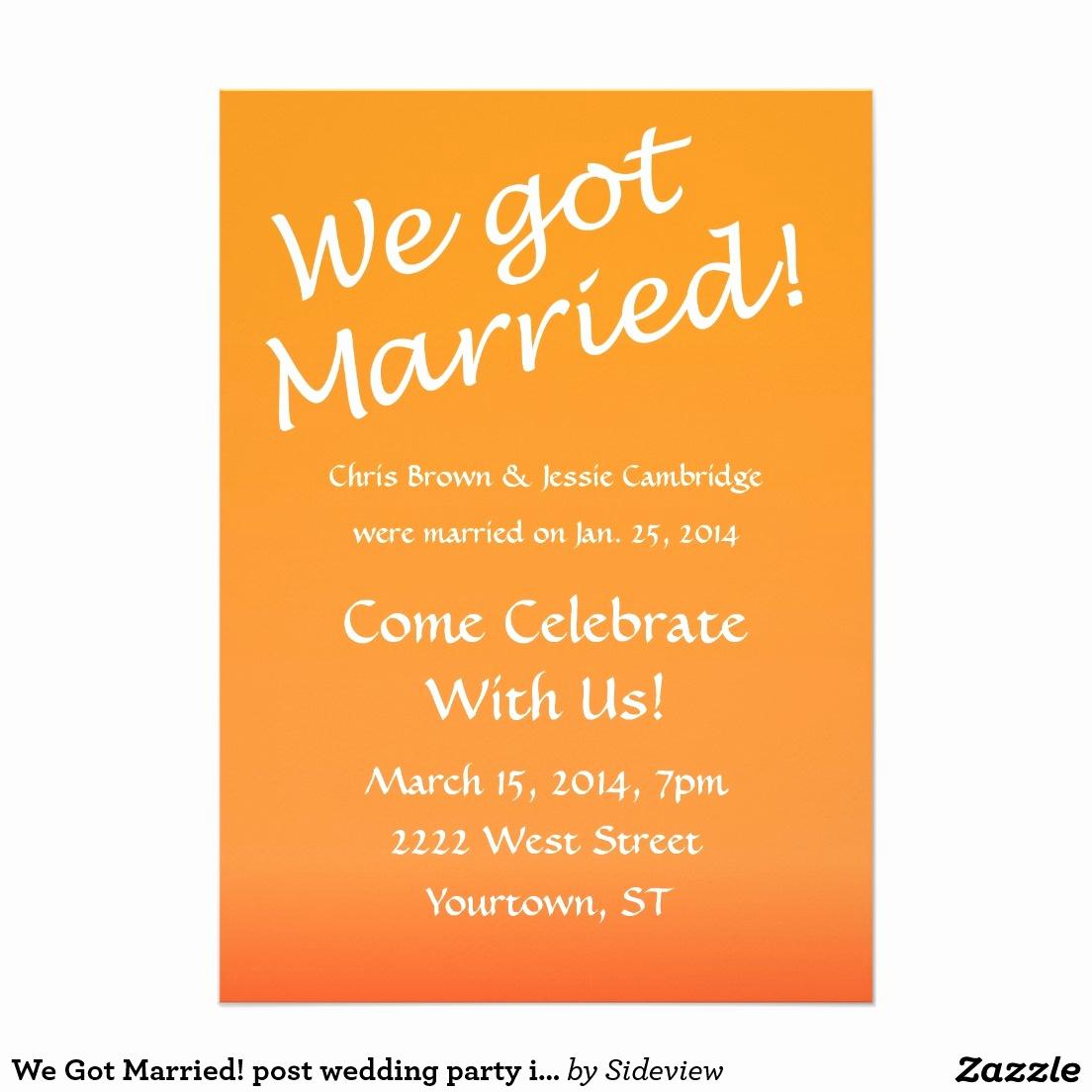 Wedding after Party Invitation Wording Beautiful Wedding Reception Invitation Templates Free
