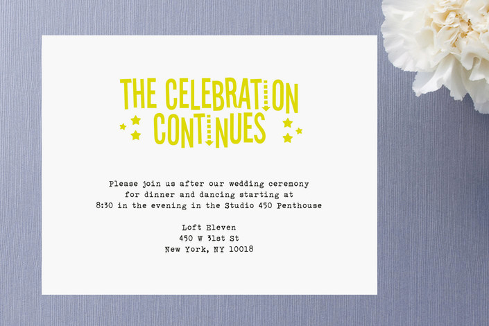 Wedding after Party Invitation Wording Lovely afterparty Wedding Invitations – Ringleader Paper Co