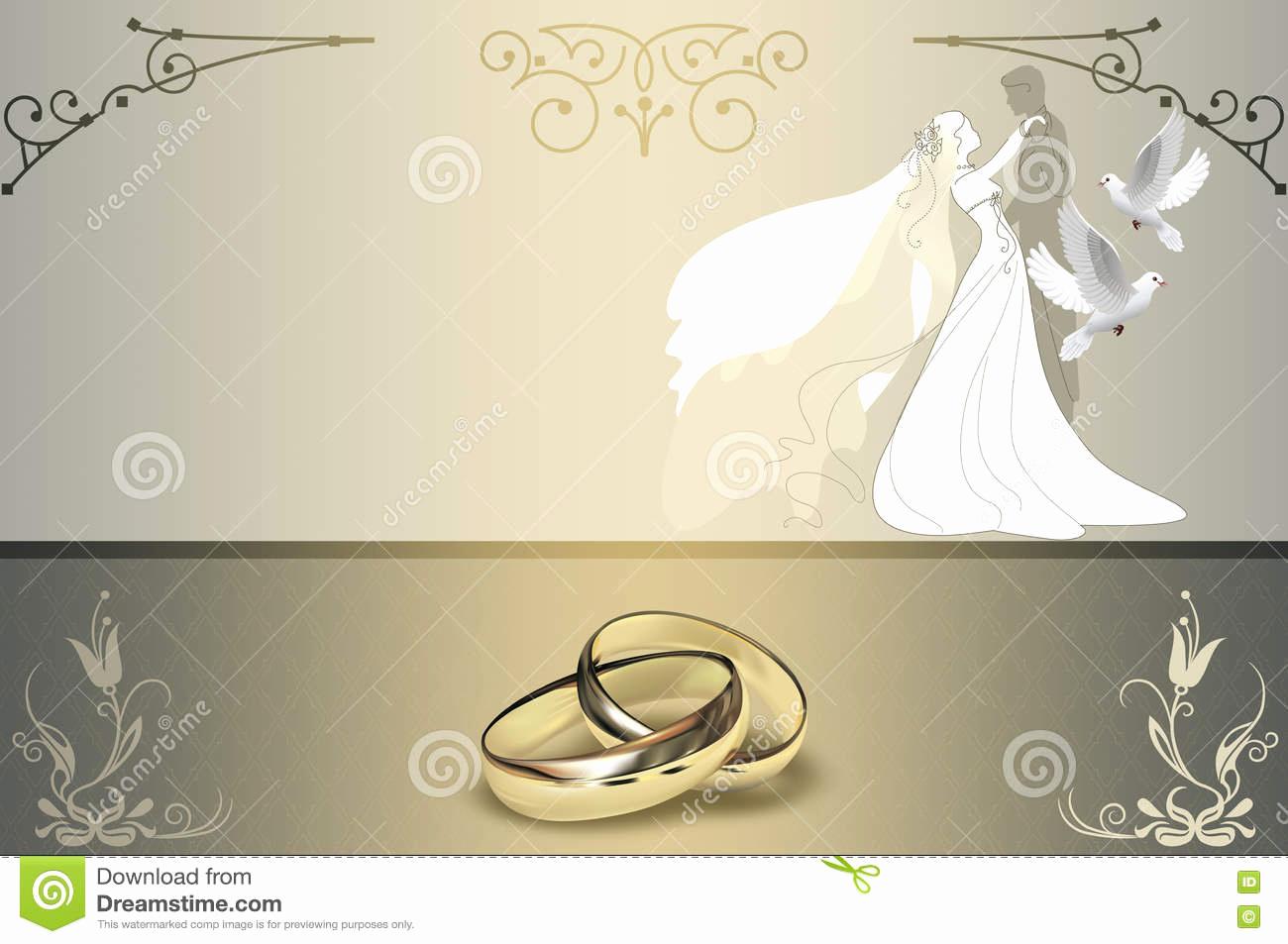 Wedding Invitation Background Designs Best Of Wedding Invitation Card Design Stock Illustration