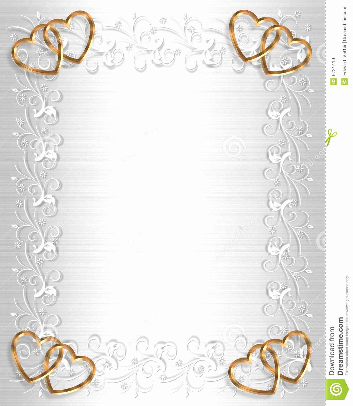 Wedding Invitation Background Designs Elegant Angel Border Stationaray