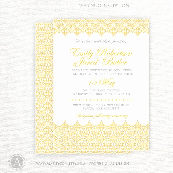 Wedding Invitation Belly Band Template New Items Similar to Blank Invitation Gold Invitation