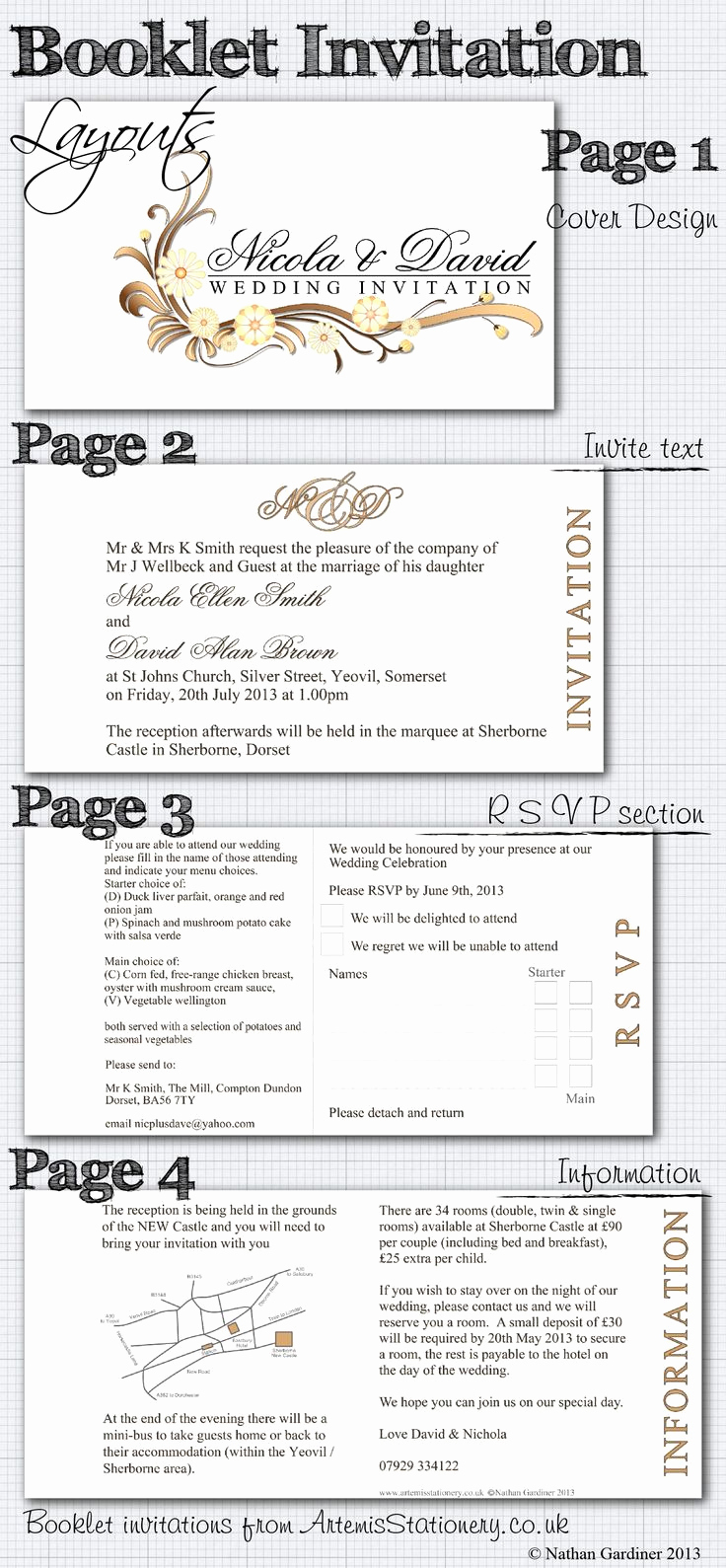 Wedding Invitation Booklet Style Elegant Best 25 Wedding Weekend Ideas On Pinterest