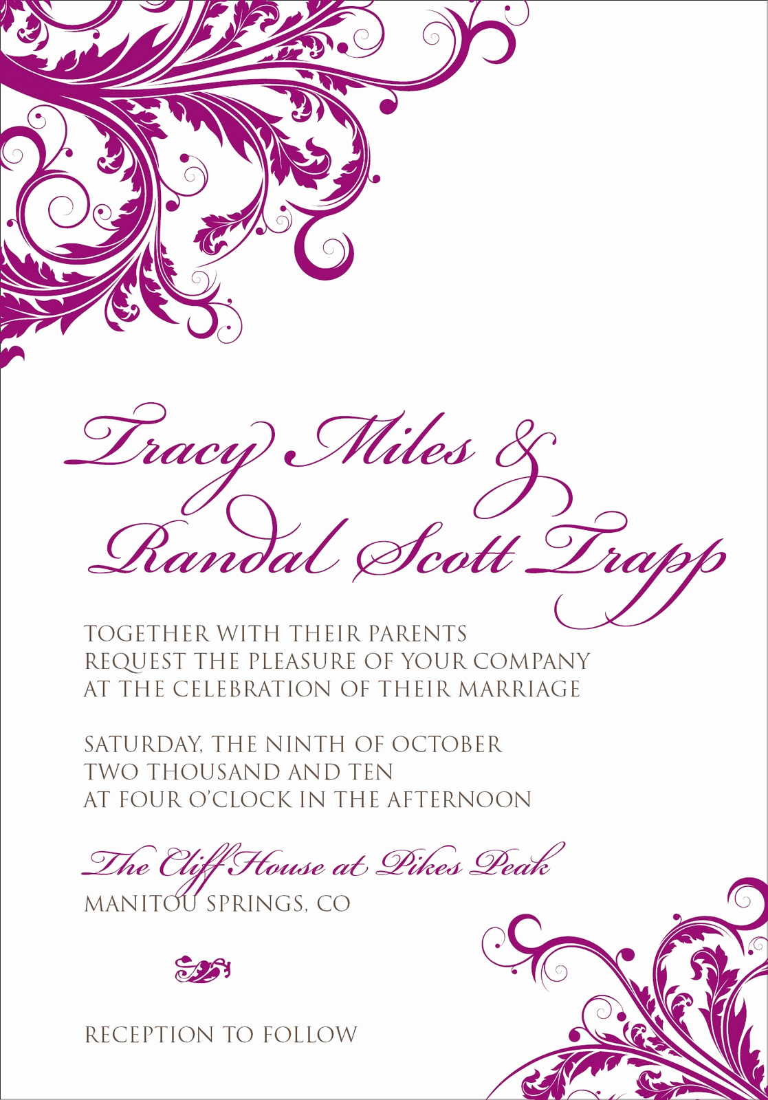 Wedding Invitation Border Design Fresh Free Border Templates for Invitations