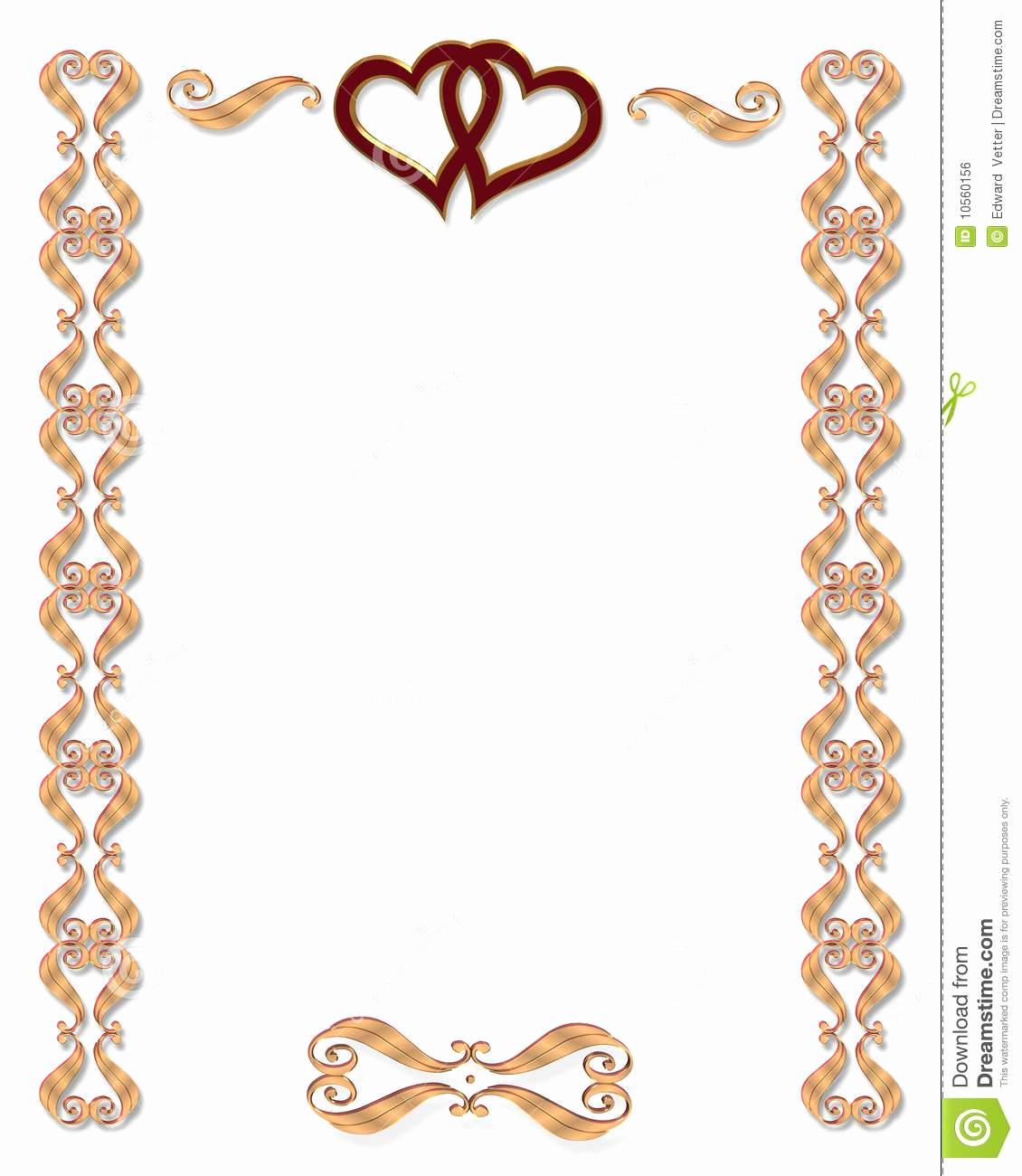 Wedding Invitation Border Designs Best Of Free Wedding Border Clipart