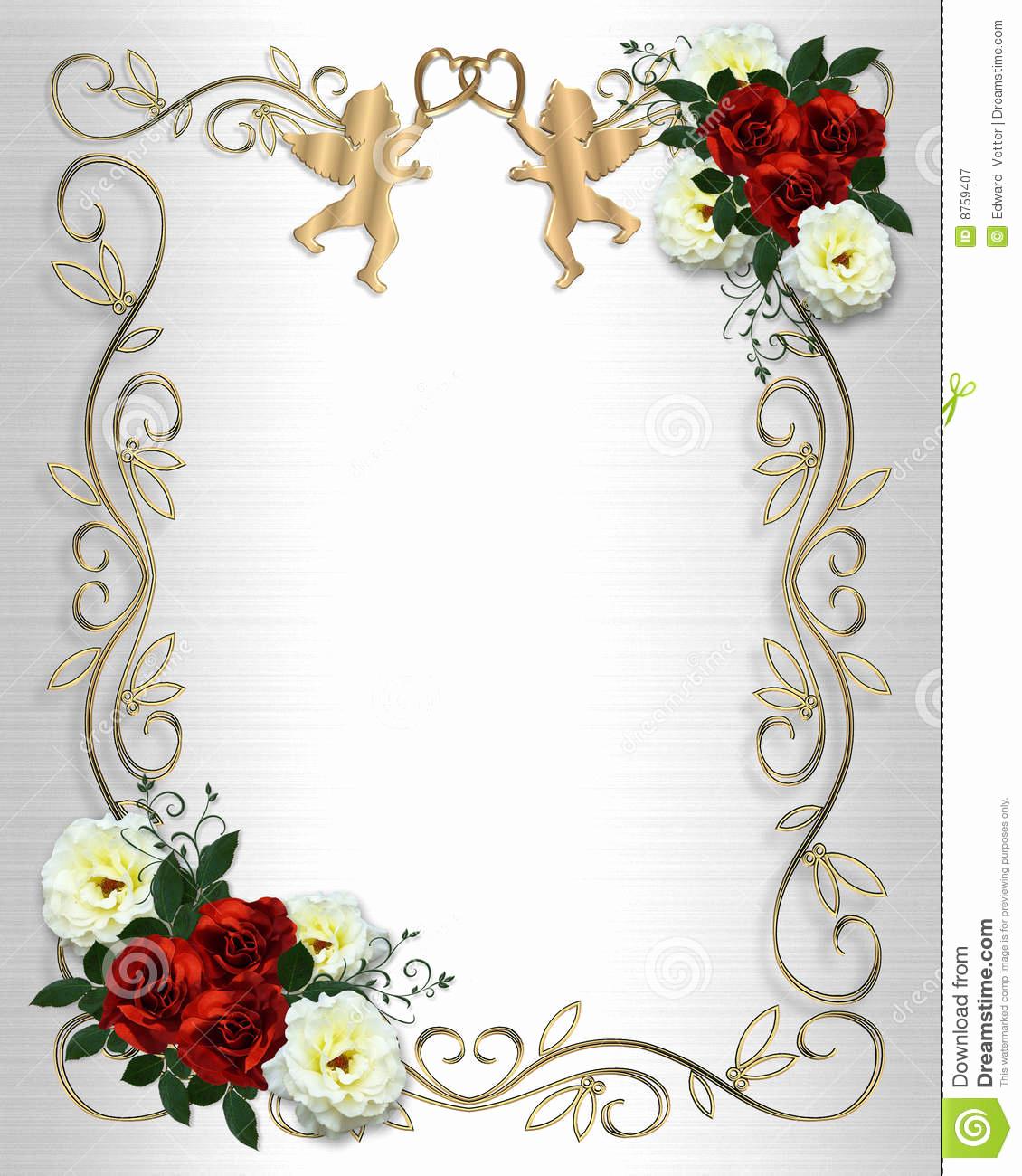 Wedding Invitation Border Designs Elegant Wedding Invitation Borders and Frames Free Download