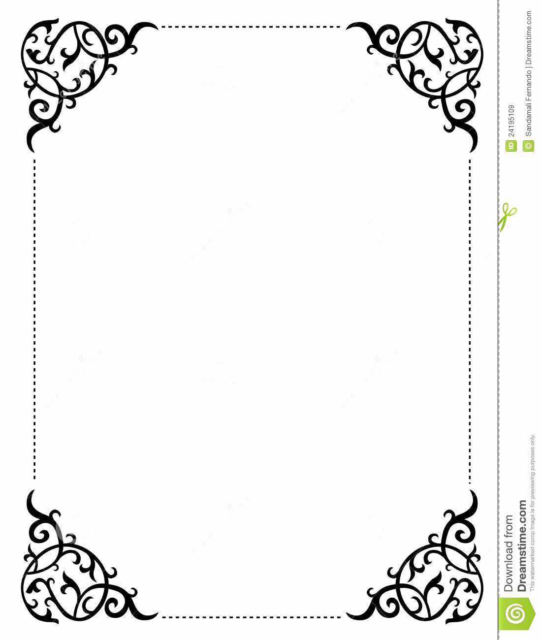 Wedding Invitation Border Designs Lovely Pin On Wedding Programs