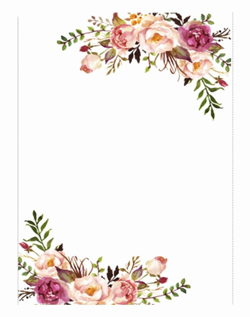 Wedding Invitation Border Designs New çikolatadenizi Floral Wedding Invitation Border Png