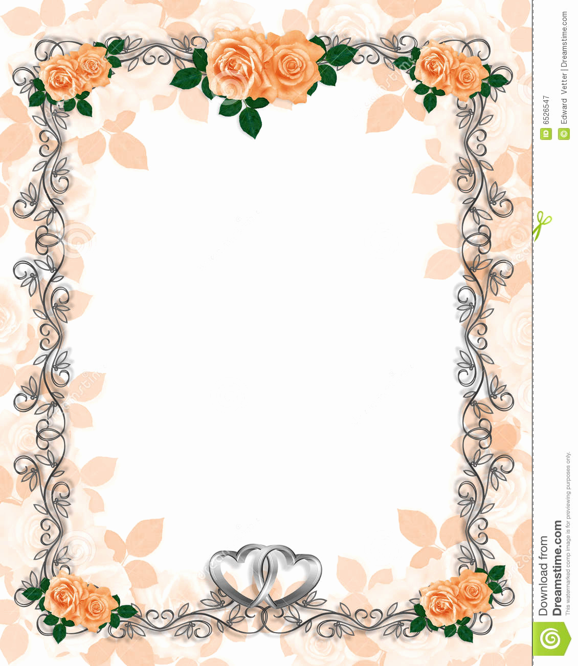 Wedding Invitation Borders Design Inspirational Free Printable Borders for Wedding Invitations
