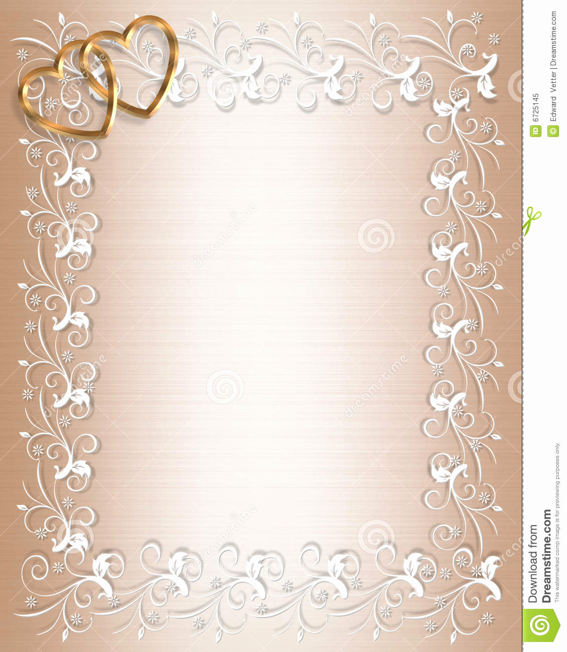 Wedding Invitation Borders Design Luxury Free Background Borders to Clipground