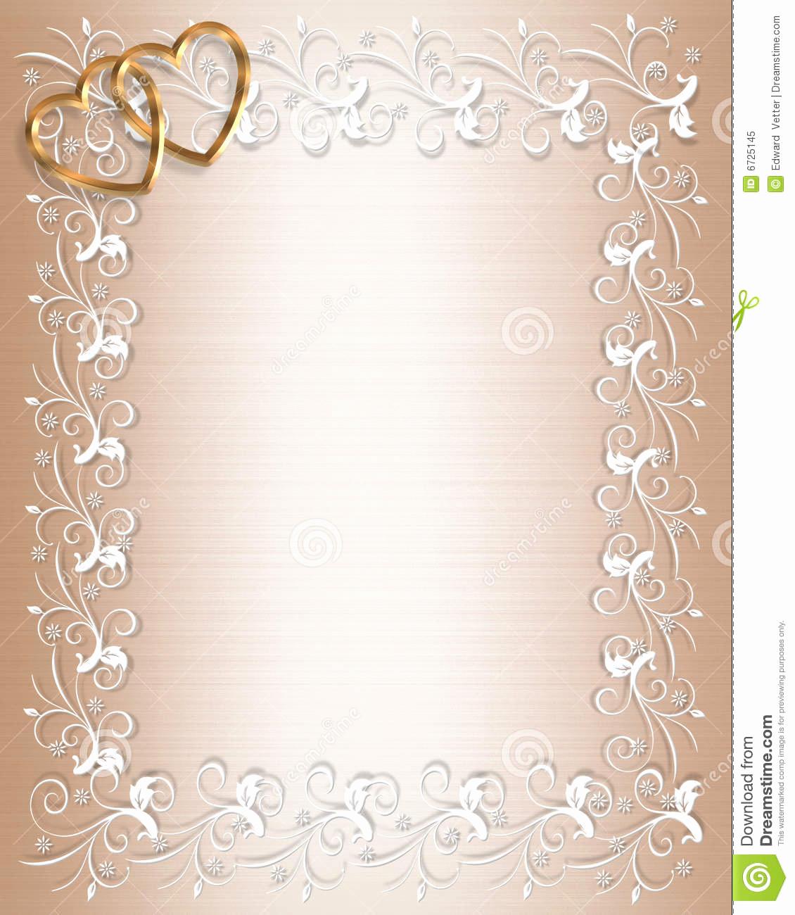 Wedding Invitation Borders Design Luxury Free Background Borders to Clipground