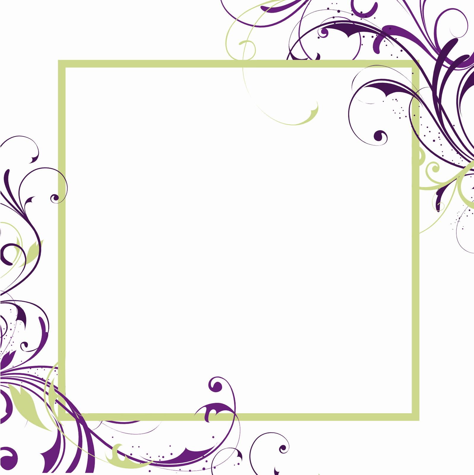 Wedding Invitation Borders Design Luxury Free Printable Blank Invitations Templates