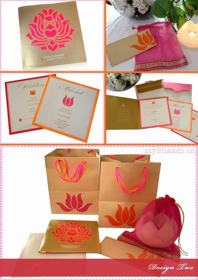 Wedding Invitation Card Ideas Best Of Indian Wedding Invitation Cards Trendy Design Ideas