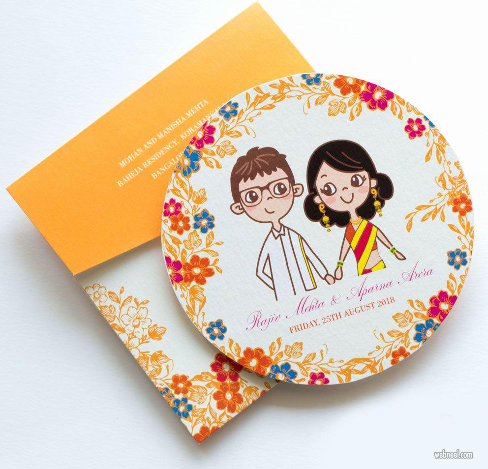 Wedding Invitation Card Ideas Lovely 35 Creative and Unusual Wedding Invitation Card Design Ideas