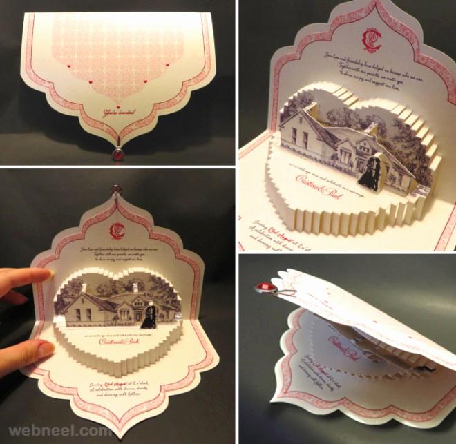 Wedding Invitation Card Ideas New 25 Creative and Unusual Wedding Invitation Card Design Ideas