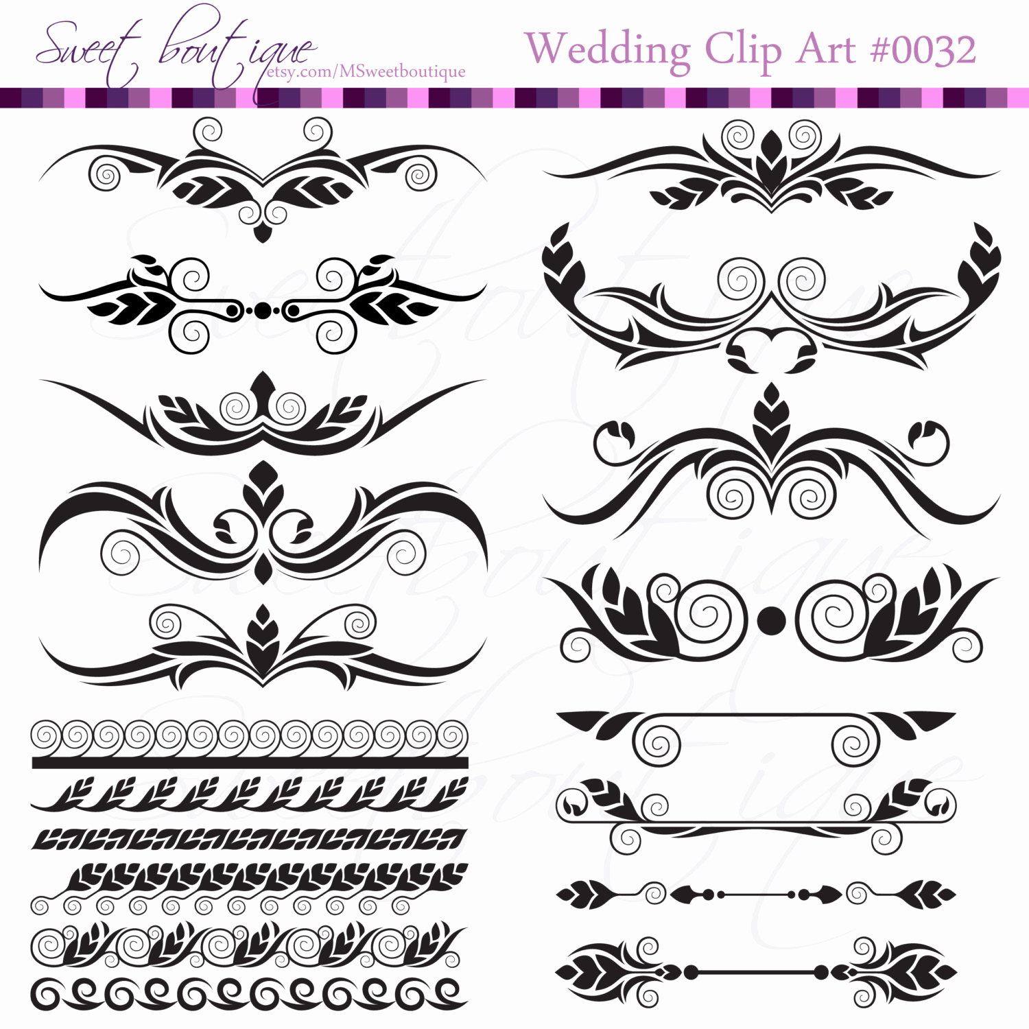 Wedding Invitation Clip Art Beautiful Digital Clip Art Frame Clipart Diy Wedding Invitation